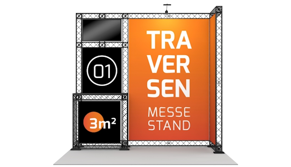 Messestand Traversen 01