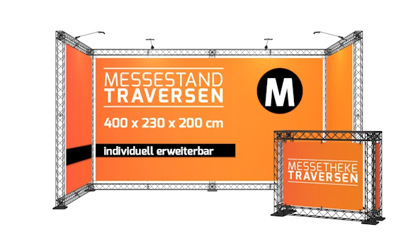 Messestand Traversen M