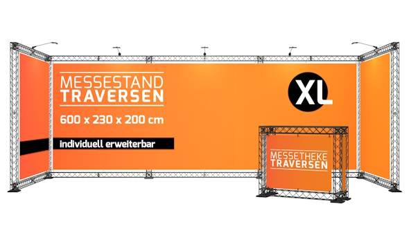 Messestand Traversen XL
