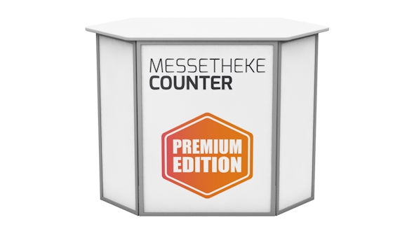 Messetheke Counter