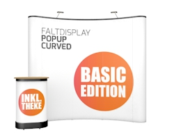 Faltdisplay PopUp Curved
