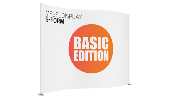 Messedisplay S-Form