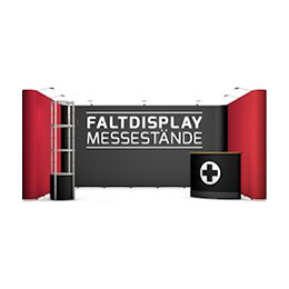 Faltdisplay Messestände